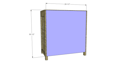 Free Plans to Build a Grandin Road Inspired Adele Wine Cabinet 10