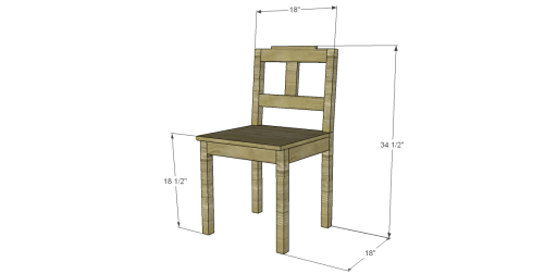 Dining Chair #3