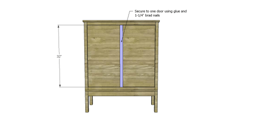 Free Plans to Build a Viva Terra Inspired Tradewinds Armoire_Door Trim
