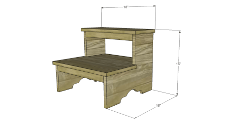 Free Plans to Build a Step Stool