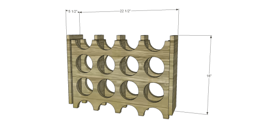 Free Plans to Build a Chesterton Wine Holder