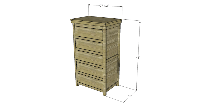 free plans to build a farmhouse chest