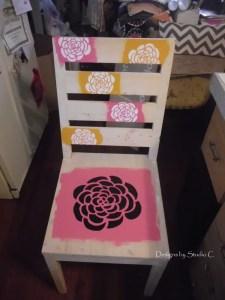 Stencil Chair 3