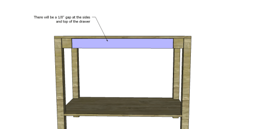 Free Plans to Build a Napa Style Inspired European Garden Table_Drawer