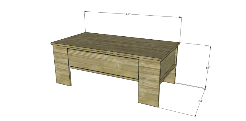 free plans to build a world market inspired ross coffee table