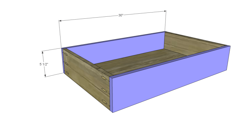 free plans to build a world market inspired ross coffee table _Drawer FB