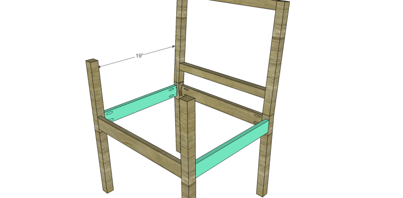 free plans to build a curvy armchair_Side Stretchers