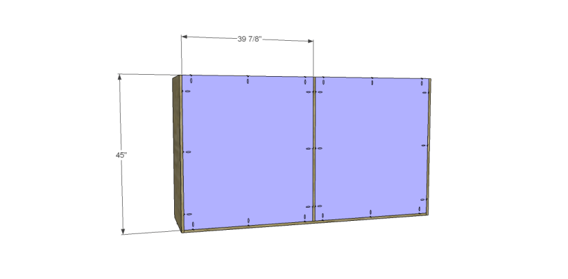 free plans to build daves two piece armoire_Upper Back