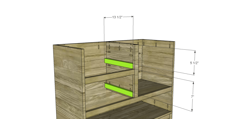 free plans to build a joss main inspired greene chest_Drawer Spacers