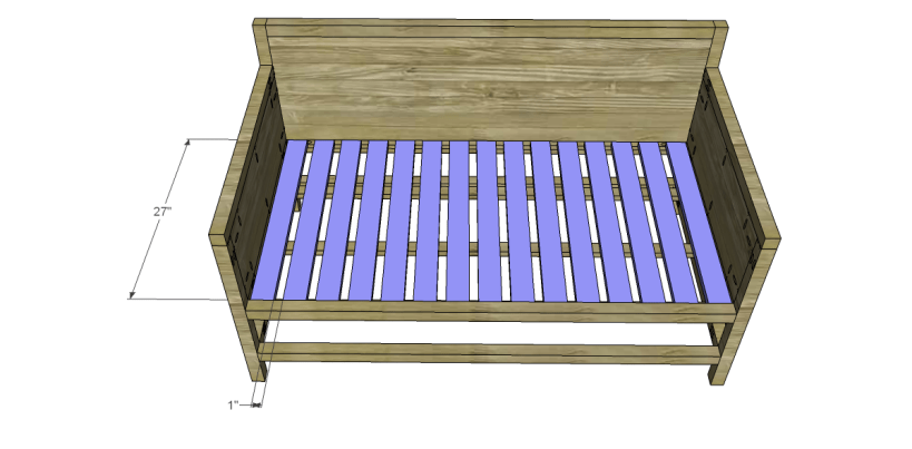 free plans to build a world market inspired raya daybed_Slats