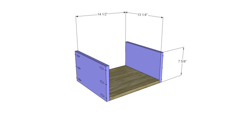 free plans to build a sereno desk_Drawer BS