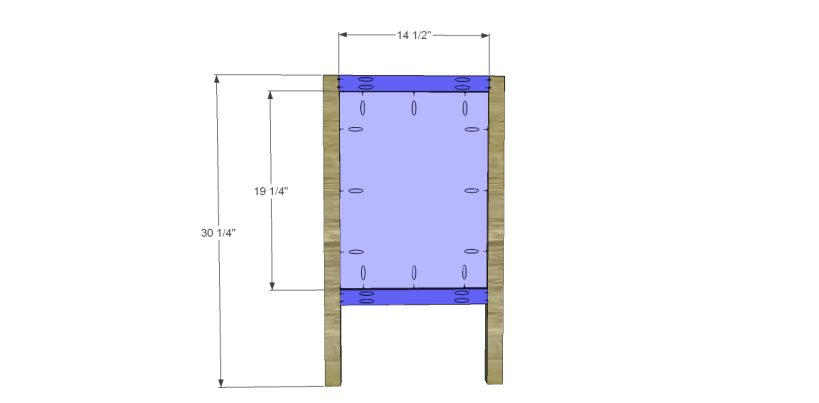 free plans to build a sereno desk_Sides