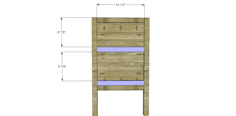 free plans to build a sereno desk_Spacers
