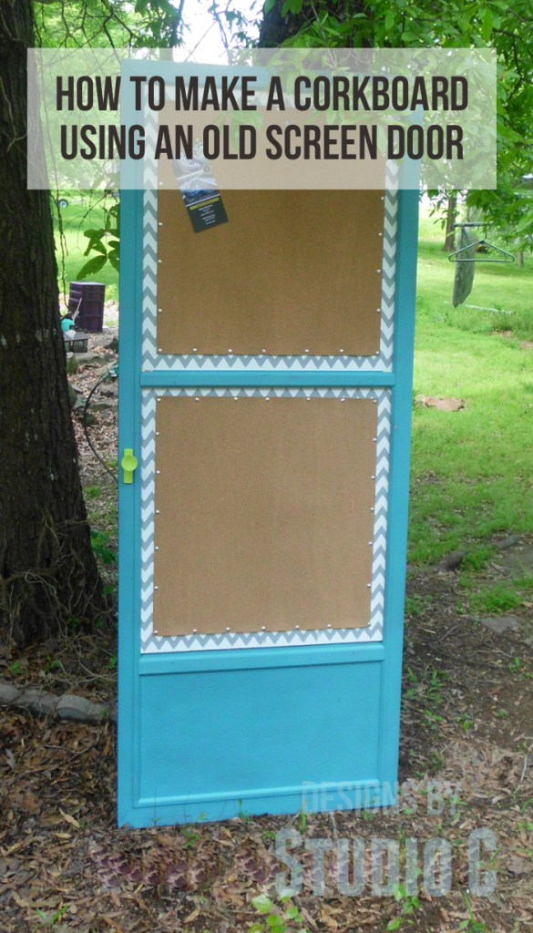 How to Make a Cork Board out of an Old Screen Door SANY2147 copy