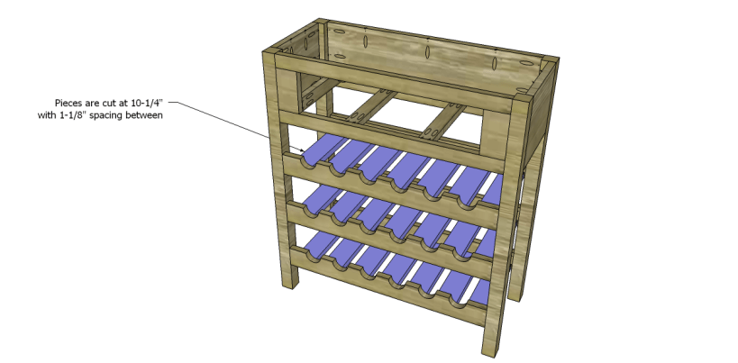 free plans to build a joss main inspired julius wine table_Slats