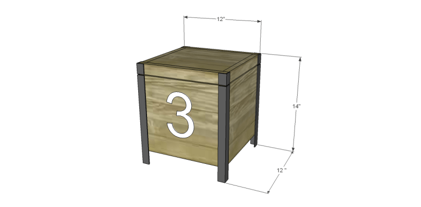 free plans to build a Williamsburg box
