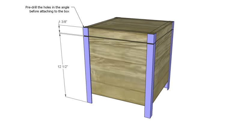 free plans to build a Williamsburg box_Legs