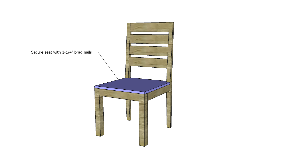 free plans to build a brooklyn chair : How To Make A Wood Chair Frame For Kids