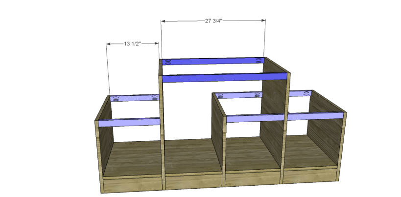 free plans to build a marconi media console_Stretchers