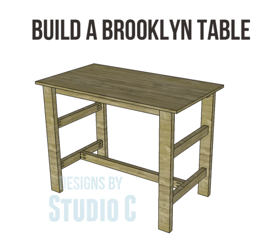Free Plans To Build A Brooklyn Table