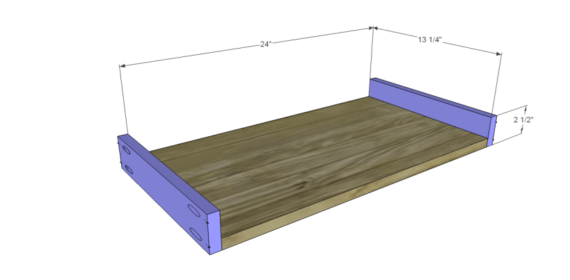 free plans to build a tura coffee table_Drawer BS
