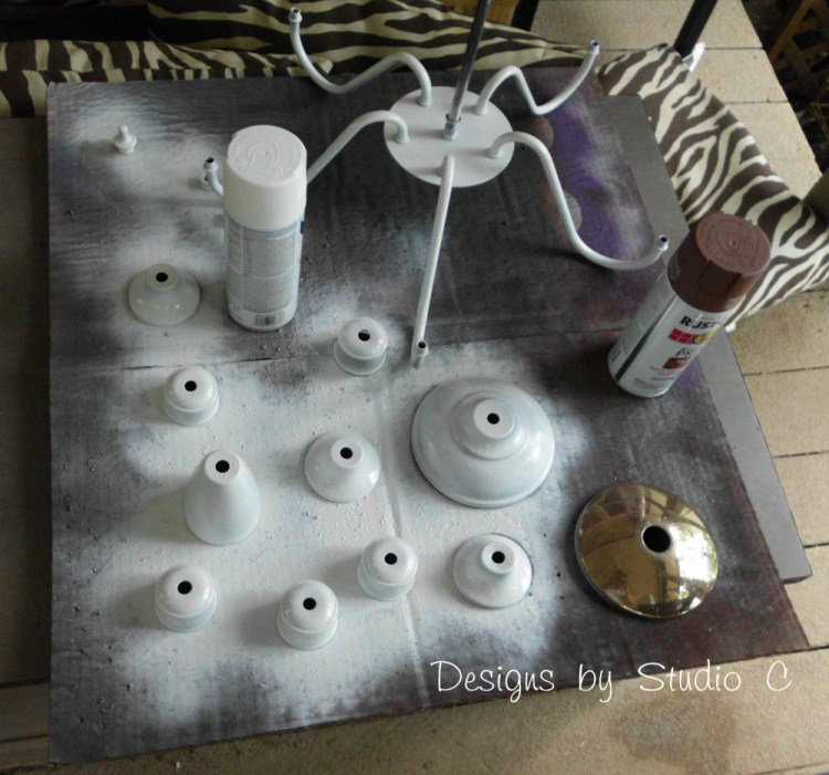 spectacular chandelier makeover SANY2447