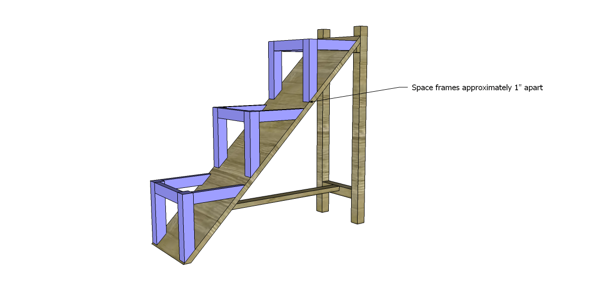 how to build a step ladder