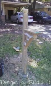 build mailbox post Photo09241400
