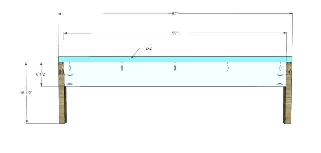 diy bed plans - diagonal QBed_Footboard
