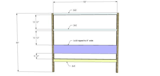 diy bed plans - diagonal QBed_Headboard 1