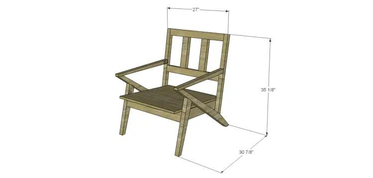 mid century modern design chair plans. Black Bedroom Furniture Sets. Home Design Ideas
