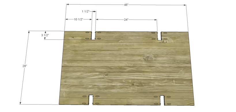 coffee table plans glass top drawers_Bottom 1