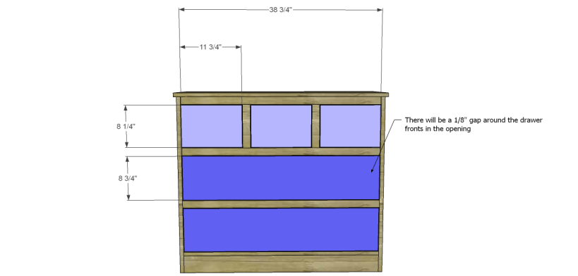 wide chest drawers plans_Drawer Fronts