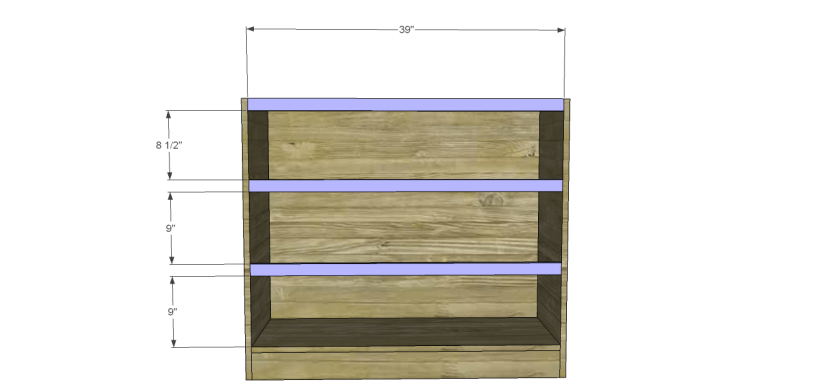 wide chest drawers plans_Stretchers