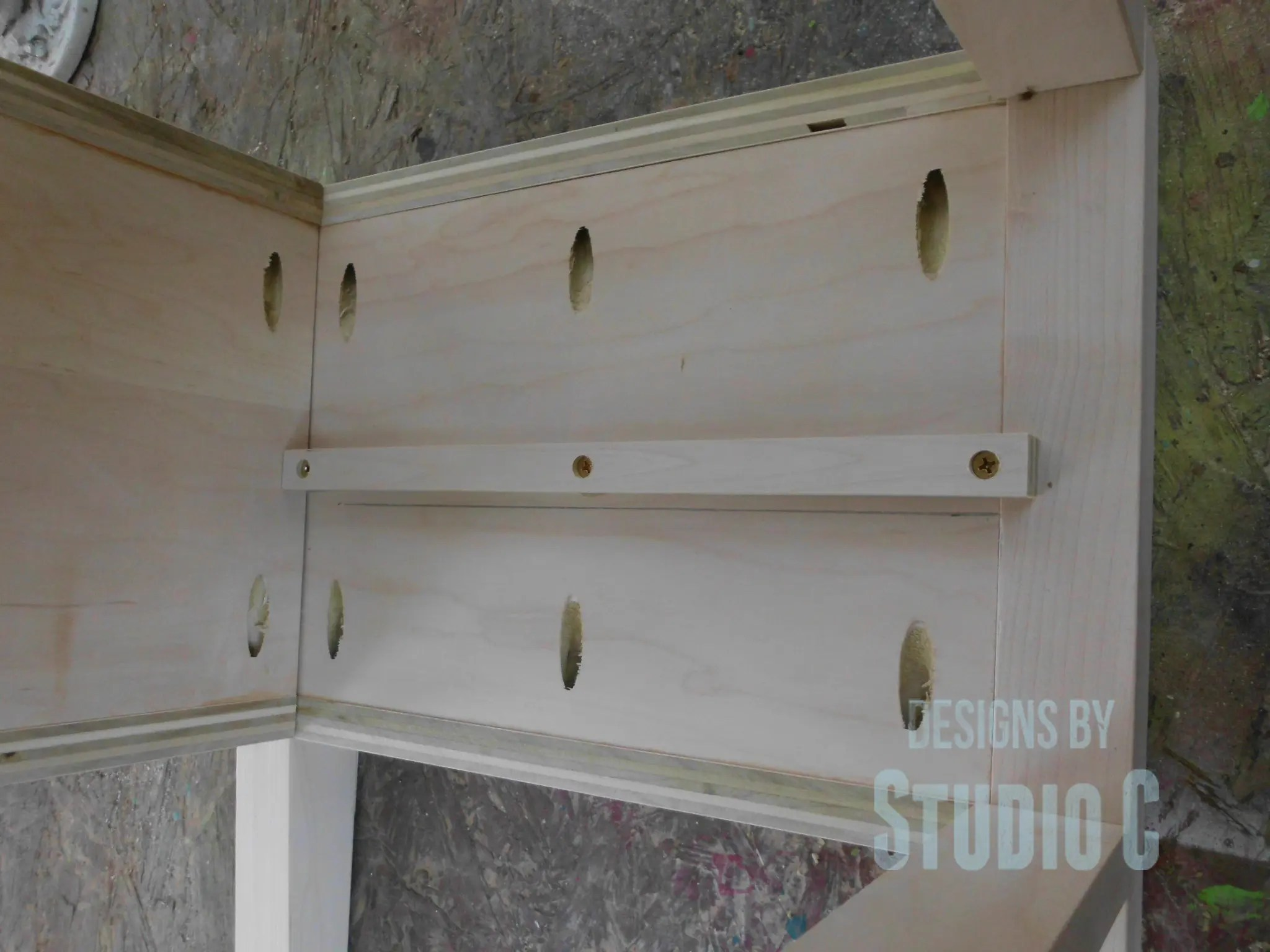 Leveling Drawer Slides : How to make drawer slides