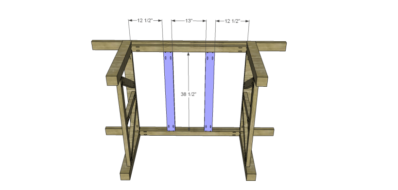 castleton dining table plans_Center Top Supports