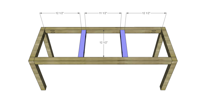 crate bench plans_Seat Supports
