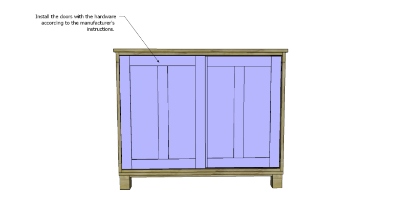 free furniture plans build pacific kitchen island_Doors3