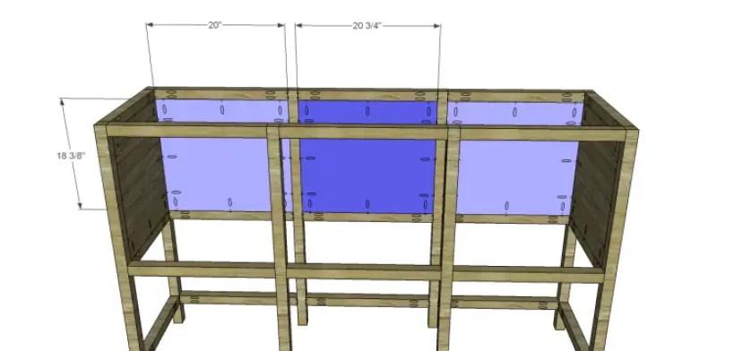 free furniture plans build sundown retreat sideboard_Back