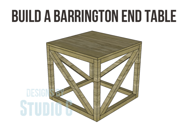 free furniture plans build barrington end table_Copy