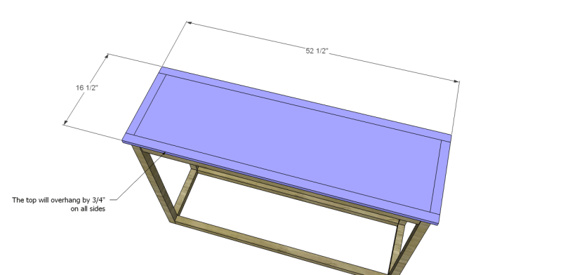 honfleur console table plans_Top 2