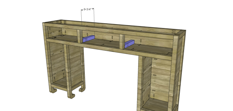 shanghai console table plans-Drawer Spacers