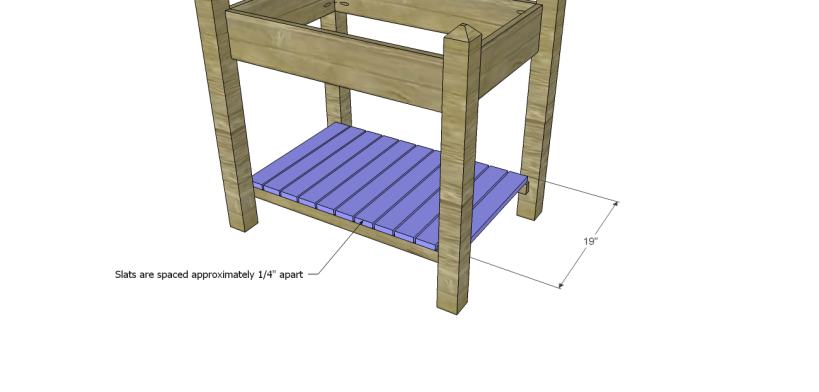 alicia planter box plans-Slats