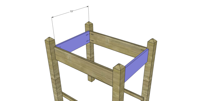 alicia planter box plans-Top Frame