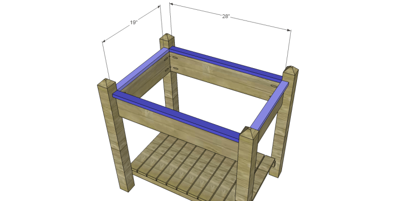 alicia planter box plans-Top Trim