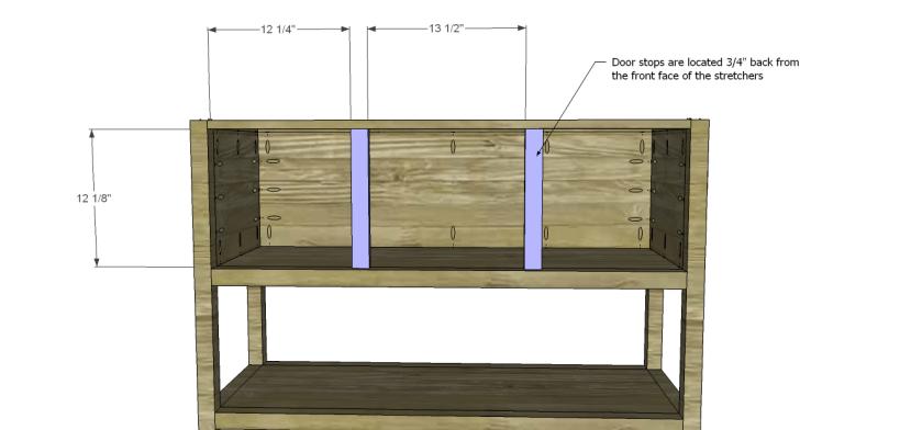 ronen sideboard plans-Door Stops