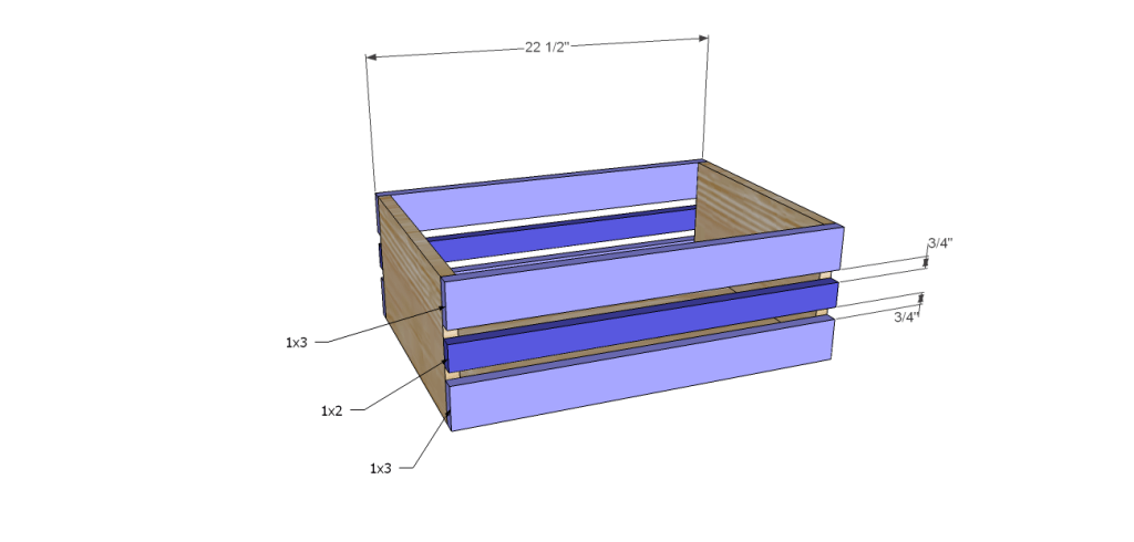 Homestyle sideboard plans-LgCrateFB