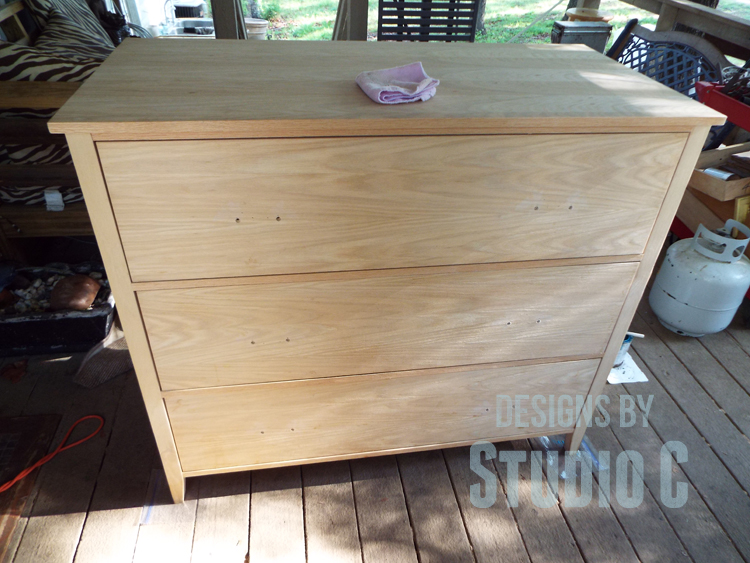 Staining-Wood-Colored-Stain-Dresser-Before