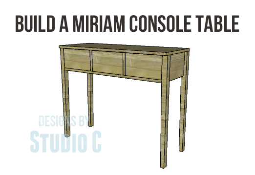 Miriam Console Table Plans-Copy