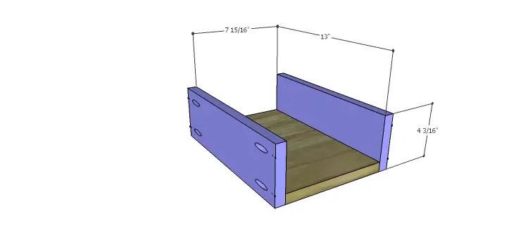 Presley 5-Drawer Table Plans-Lg Drawer BS